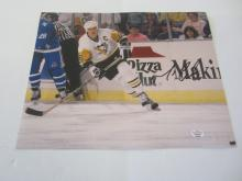 MARIO LEMIEUX PENGUINS SIGNED AUTOGRAPHED 8X10 PHOTO CERTIFIED PAASAA.COM