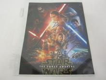 STAR WARS CAST SIGNED AUTOGRAPHED 8X10 PHOTO DAISY RIDLEY, JOHN BOYEGA CERTIFIED COA
