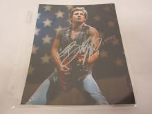 BRUCE SPRINGSTEEN SIGNED AUTOGRAPHED 8X10 PHOTO CERTIFIED COA