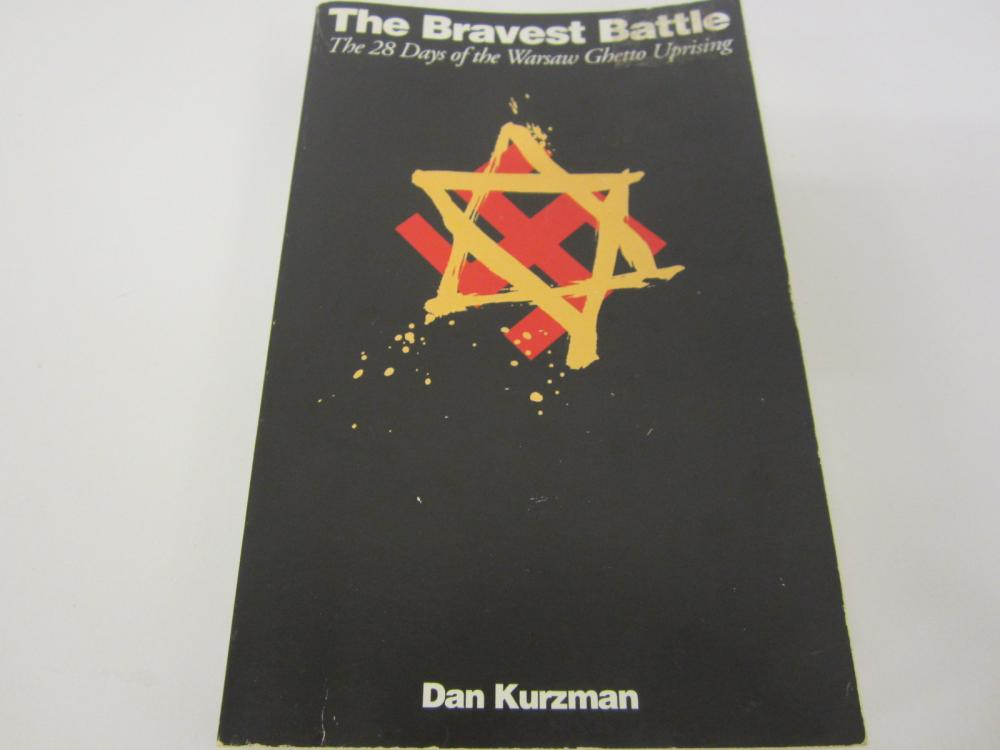 The Bravest Battle 28 Days of Warsaw Ghetto Uprising paperback book Dan Kurzman