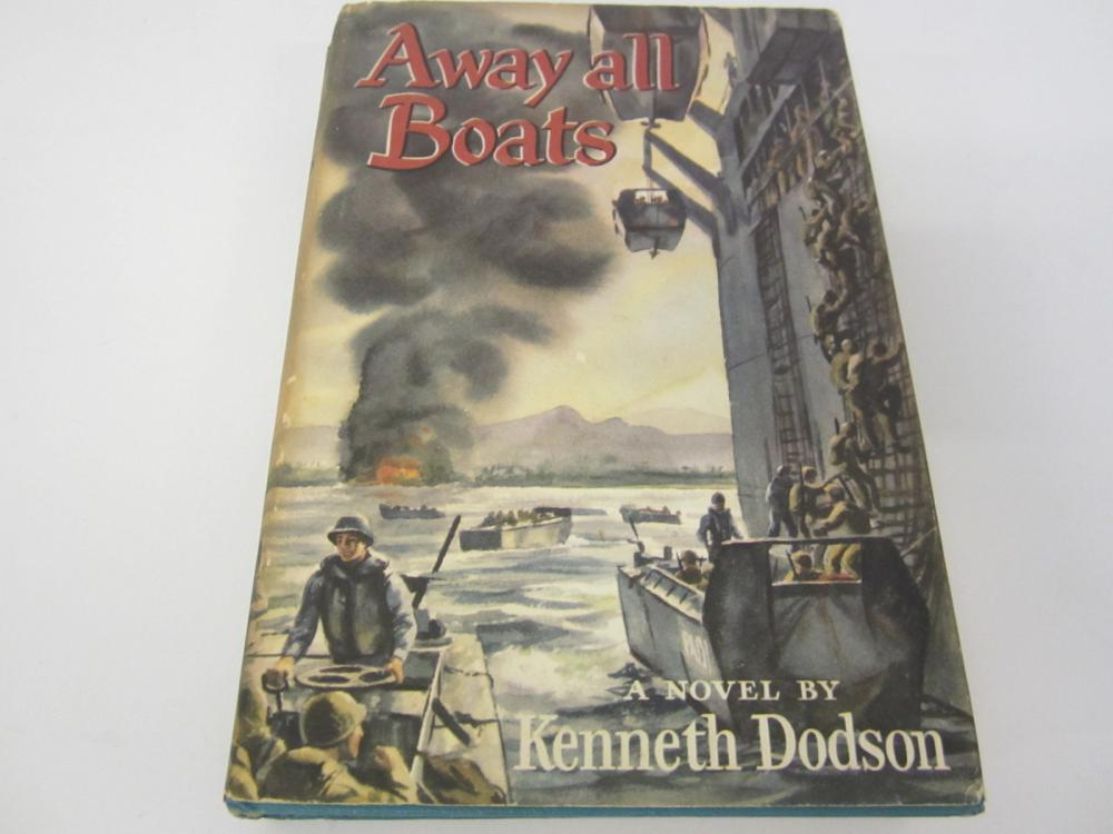 Away All Boats by Kenneth Dodson 1954 hardcover book