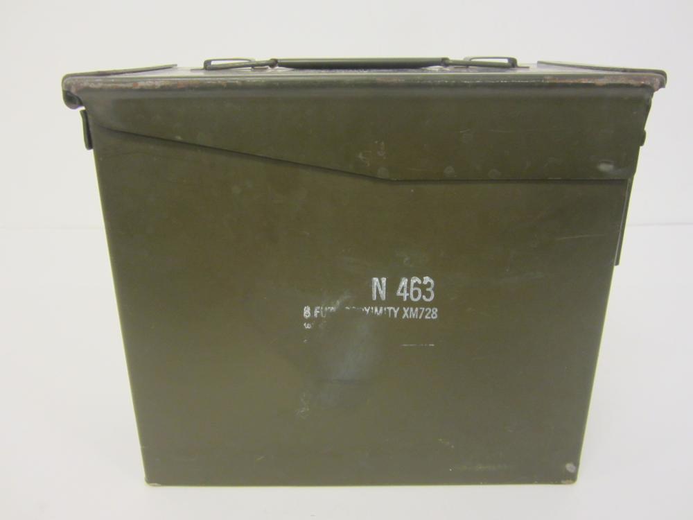 Vintage Military Ammo Ammunition Box