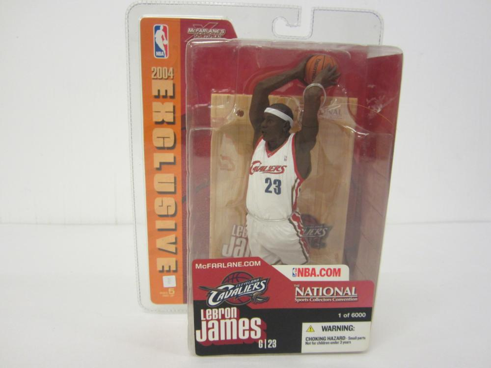 2004 National Collectors Convention LeBron James McFarlane Figure Sealed RARE