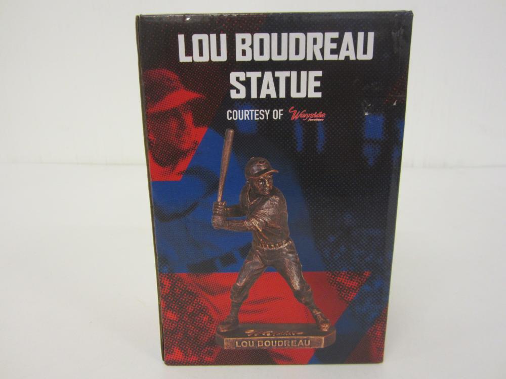 Lou Boudreau Cleveland Indians Baseball Replica Statue SGA with Box