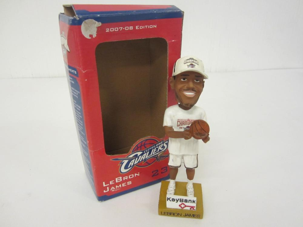 LeBron James Cleveland Cavaliers 2007-08 Eastern Conference Champions bobblehead