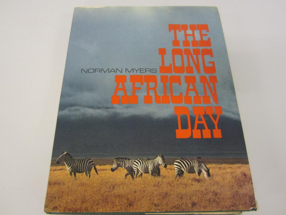 1973 The Long American Day by Norman Myers hardcover book