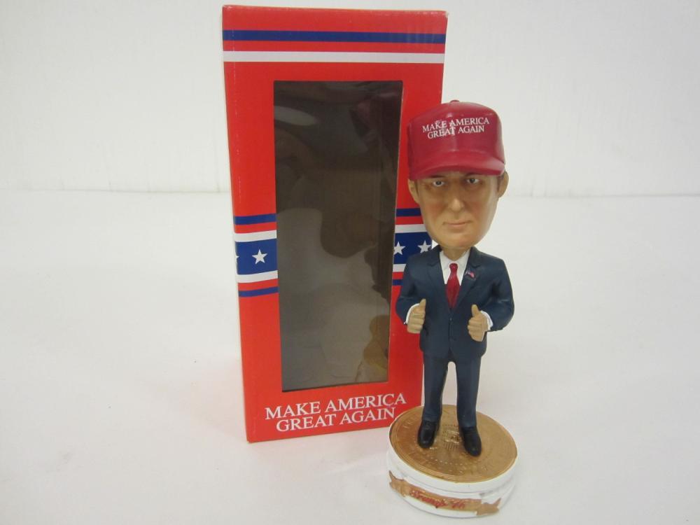President Donald Trump Make America Great Again Exclusive Bobblehead