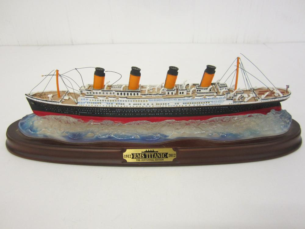 1912-2012 RMS Titanic Figurine 100 year Anniversary Edition