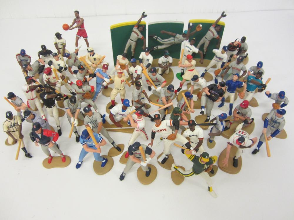 HUGE lot vintage Kenner Starting Lineup loose figures Mike Schmidt Rollie Fingers +More