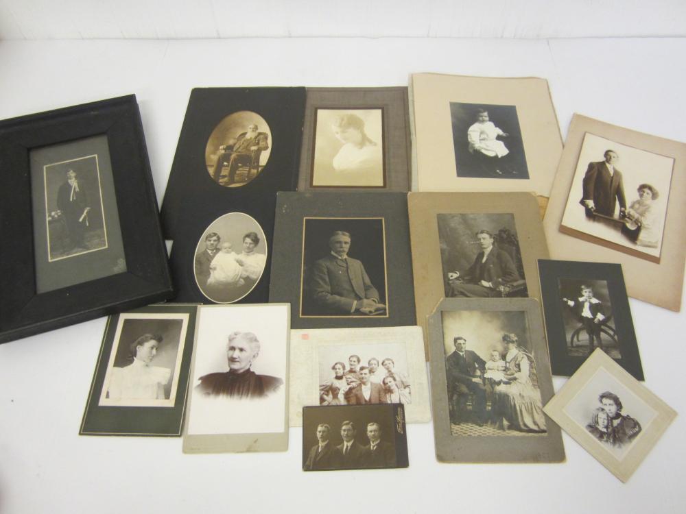 HUGE lot Vintage Antique photos photographs