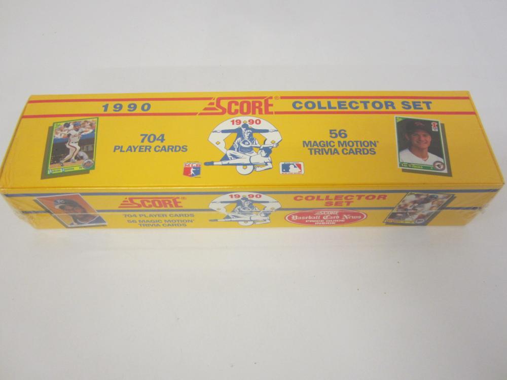 1990 Score Baseball Factory Sealed Complete Set Frank Thomas Rookie 1-704