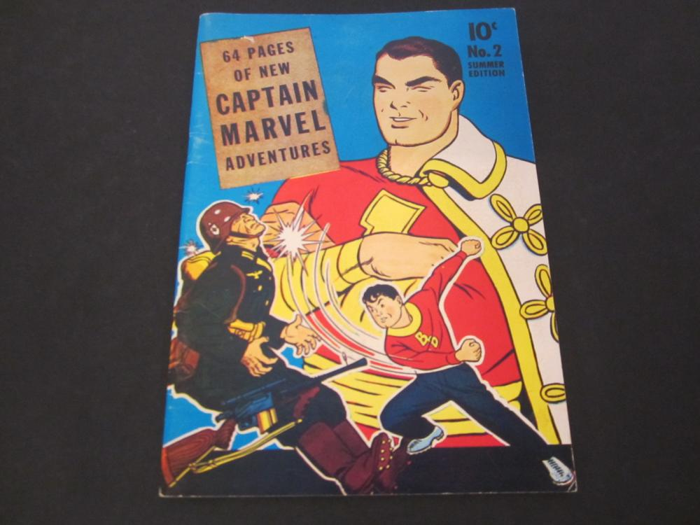 Captain Marvel Adventures 10 Cent (1941) Comic Book Special Edition Reprint
