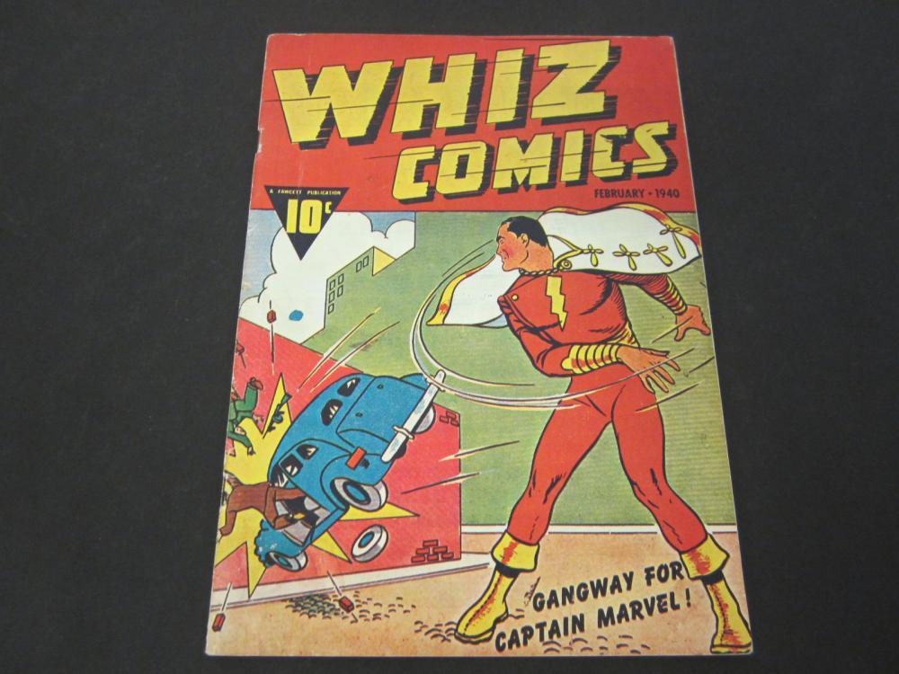 Captain Marvel Whiz Comics 10 Cent (1940) Comic Book Special Edition Reprint