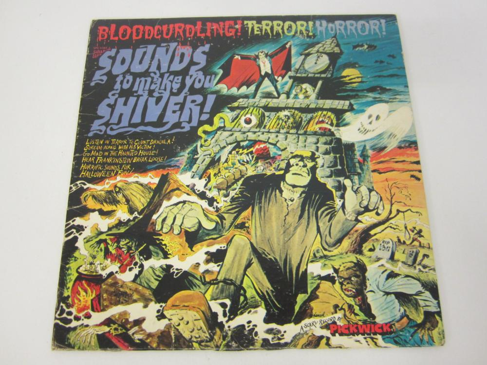 Sounds to Make You Shiver Bloodcurdling Terror Record Album