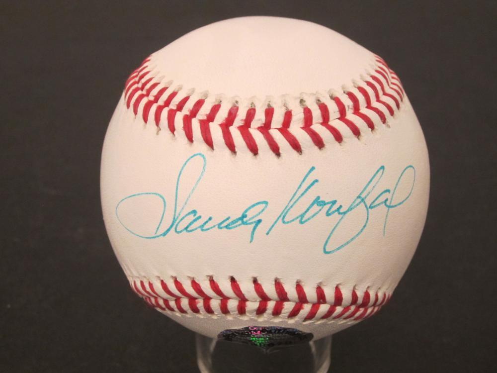 Sandy Koufax LA Dodgers Signed Autographed Rawlings baseball Certified Coa