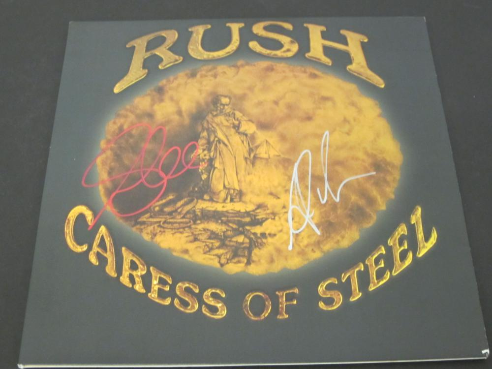 RUSH Geddy Lee Alex Signed Autographed record album Certified Coa