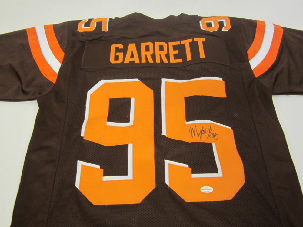 Myles Garrett Cleveland Browns Signed Autographed jersey Certified Coa