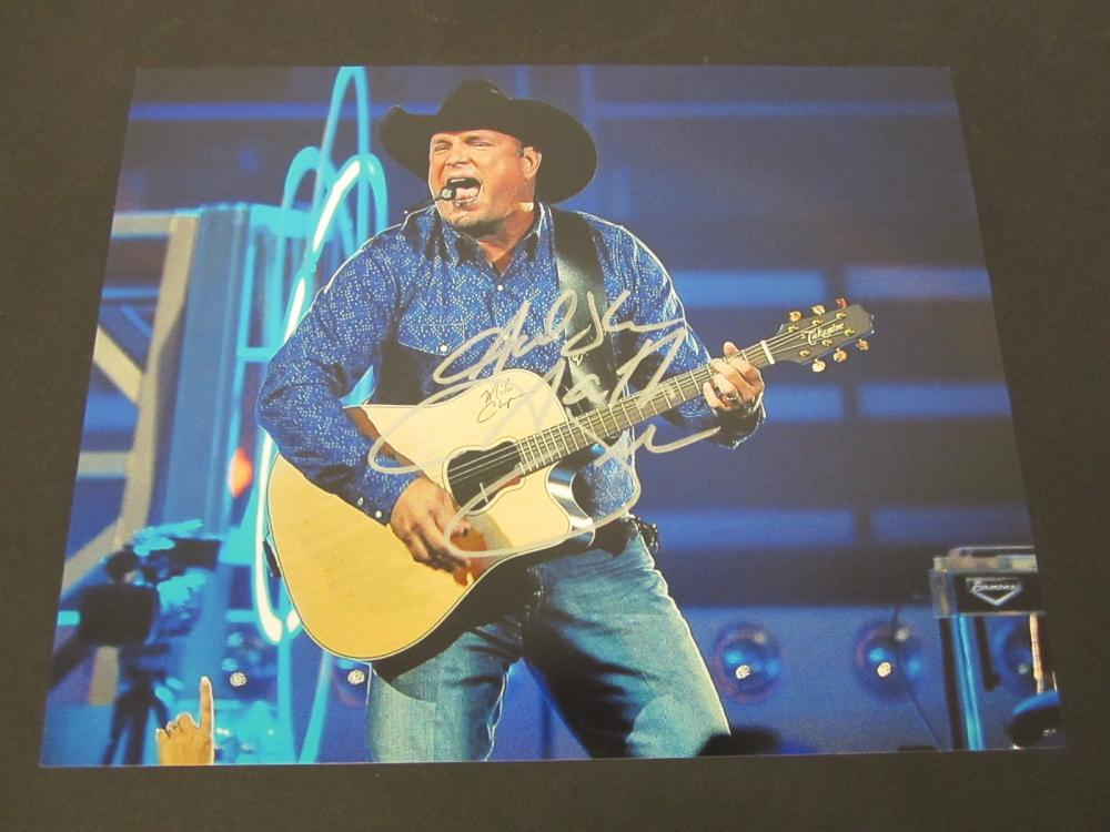 Garth Brooks Signed Autographed 8x10 color photo Certified Coa