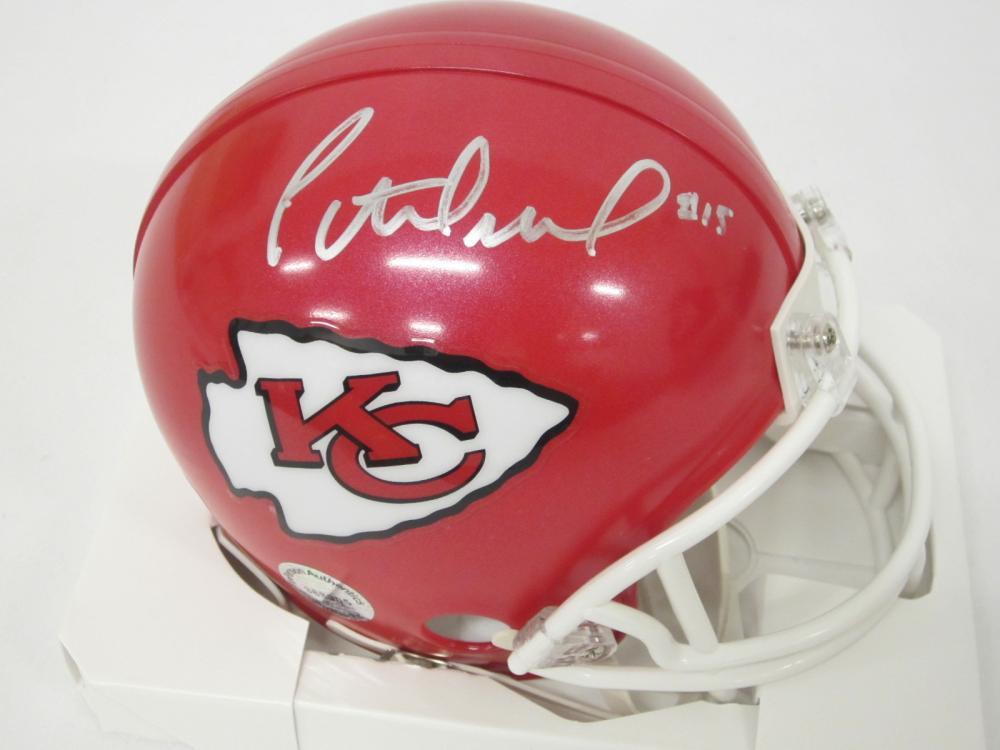 Patrick Mahomes Kansas City Royals Signed Autographed mini helmet Certified Coa