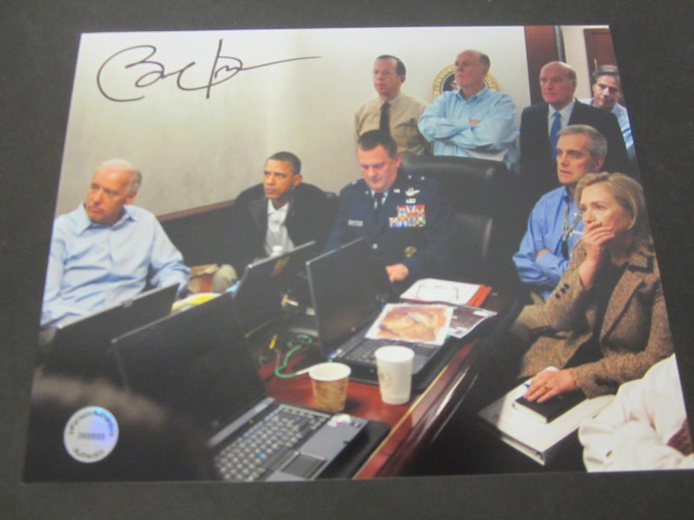 Barack Obama President Signed Autographed 8x10 photo Certified Coa