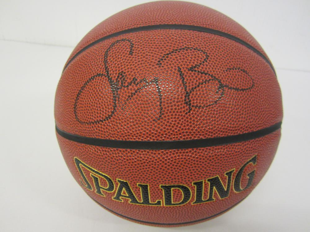 Larry Bird Boston Celtics Signed Autographed full size basketball Certified Coa