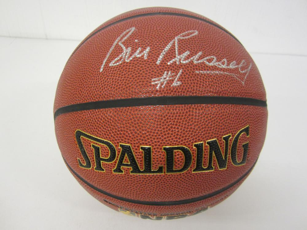 Bill Russell Boston Celtics Signed Autographed full size basketball Certified Coa