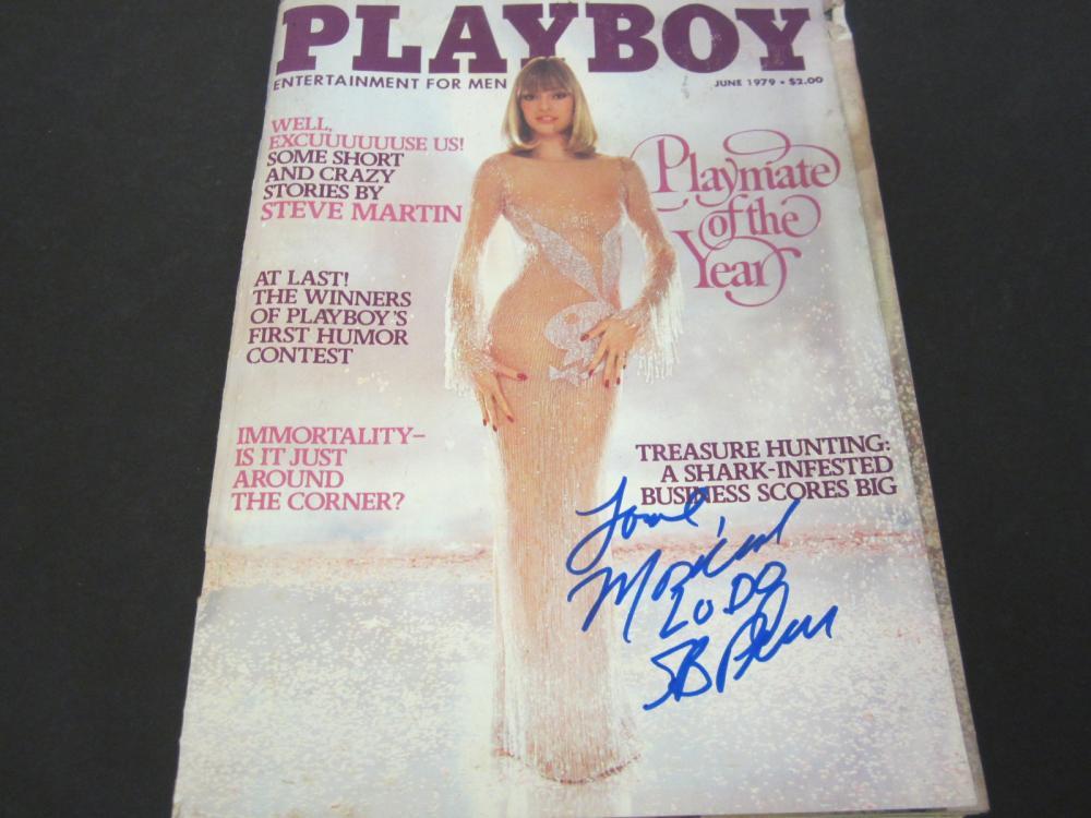 Monique St. Pierre Signed Autographed Playboy Magazine Certified Coa