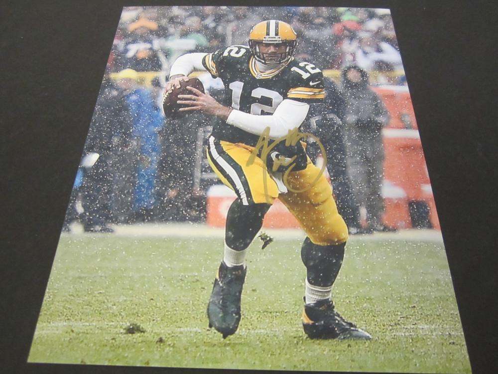 Aaron Rodgers Green Bay Packers Signed Autographed 8x10 photo Certified Coa