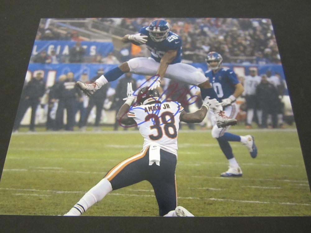 Saquon Barkley New York Giants Signed Autographed 8x10 photo Certified Coa