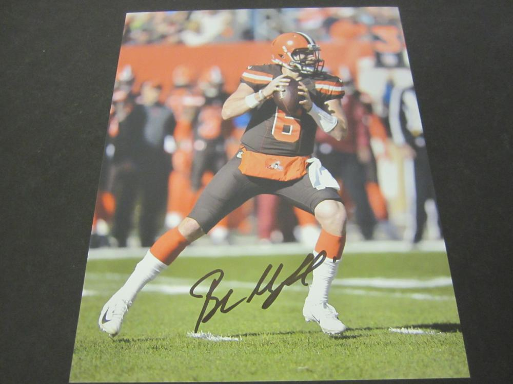 Baker Mayfield Cleveland Browns Signed Autographed 8x10 photo Certified Coa