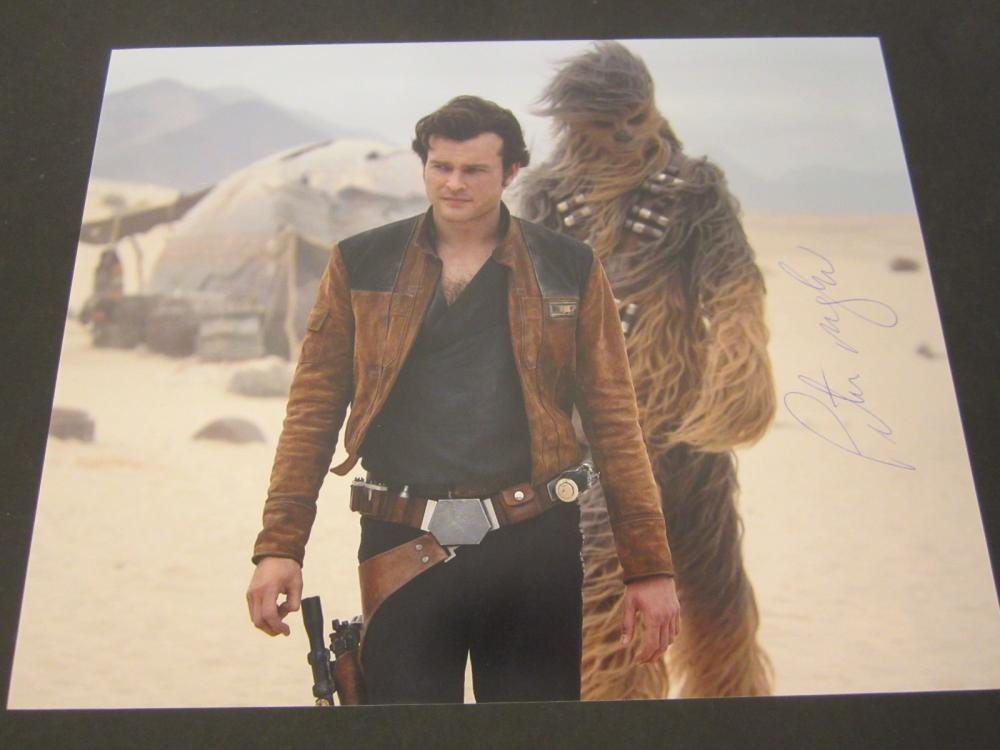 "Peter Mayhew ""Star Wars"" Signed Autographed Chewbaca 8x10 photo Certified Coa"
