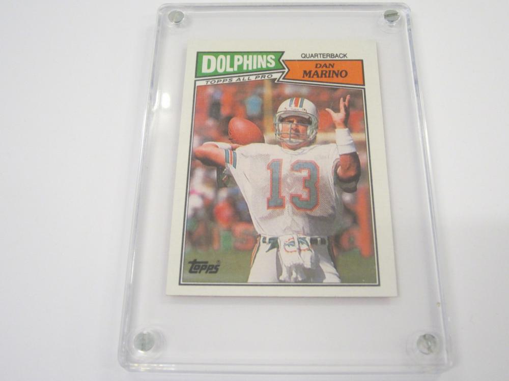 1987 TOPPS FOOTBALL DAN MARINO DOLPHINS CARD
