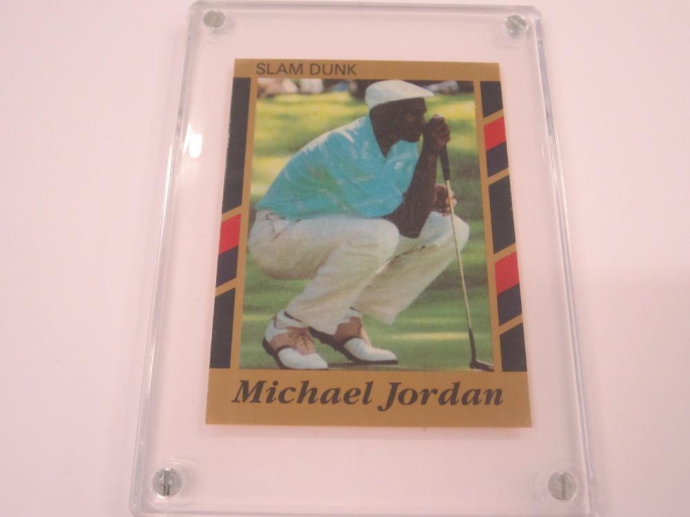 1990-91 SLAM DUNK MICHAEL JORDAN GOLF CARD