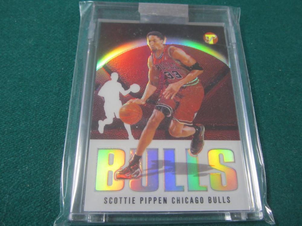 2003 TOPPS BASKETBALL SCOTTIE PIPPEN UNCIRCULATED REFRACTOR SEALED CARD 58/149