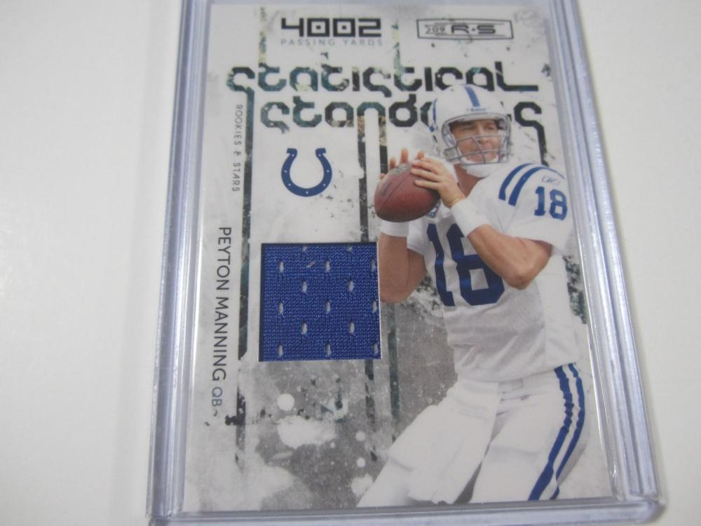 Peyton Manning Indianapolis Colts Piece of Jersey Card
