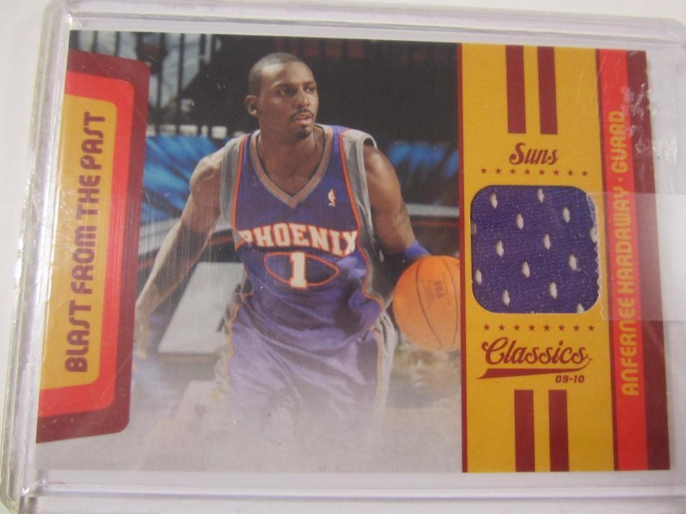 Anfernee Hardaway Phoenix 2009-10 Classics Piece of Jersey Card