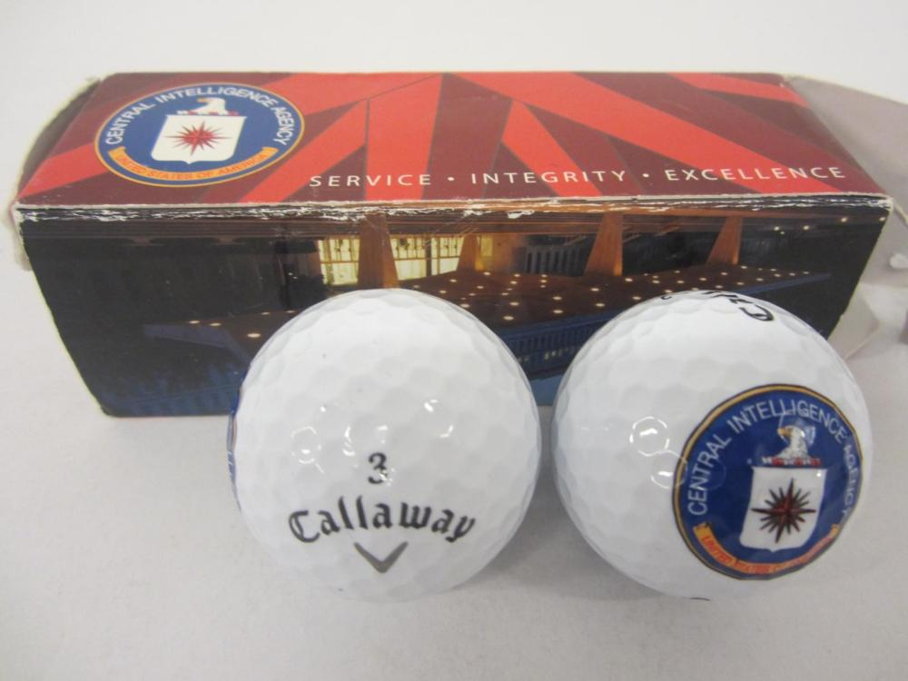 CIA Central Intelligence Agency Themed Pack of Golf Balls