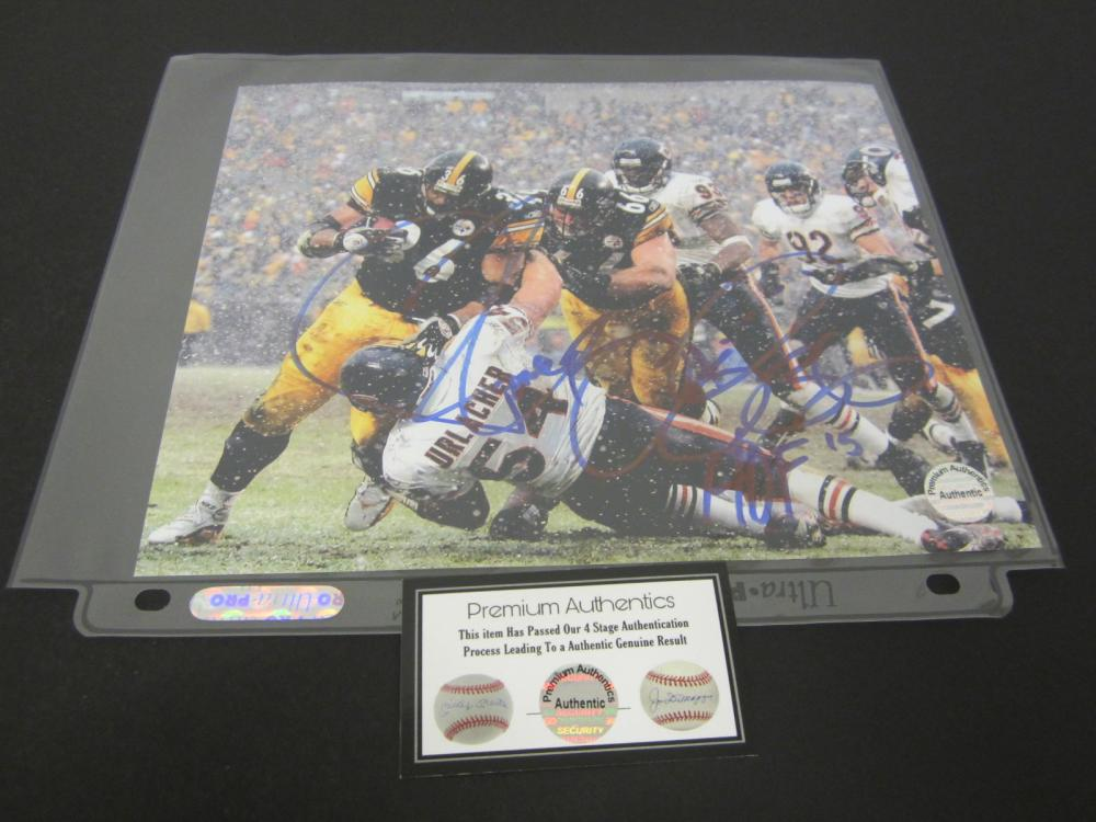 JEROME BETTIS SIGNED AUTOGRAPHED STEELERS 8X10 COA