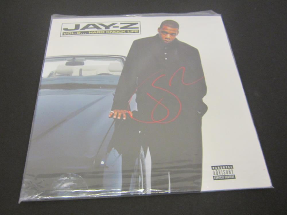 JAY Z SIGNED AUTOGRAPHED RECORD COA