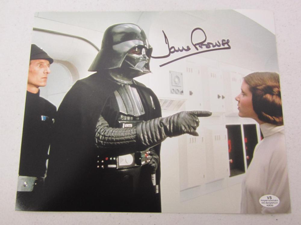 Dave Prowse Star Wars Signed Autographed 8x10 Photo Certified Coa