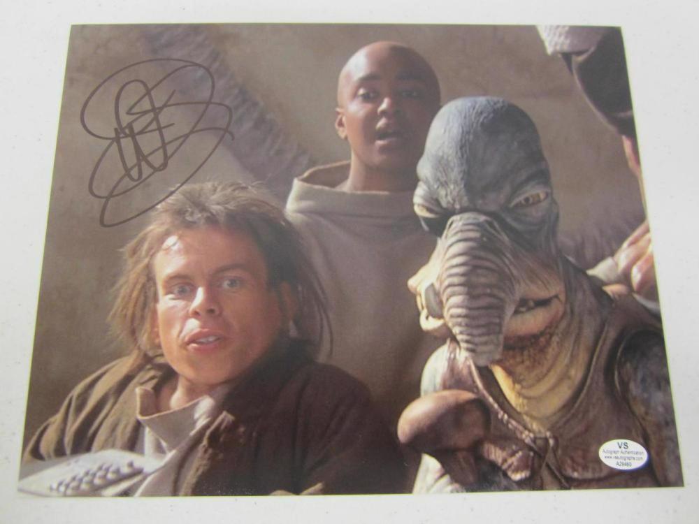 Warwick Davis Star Wars Signed Autographed 8x10 Photo Certified Coa