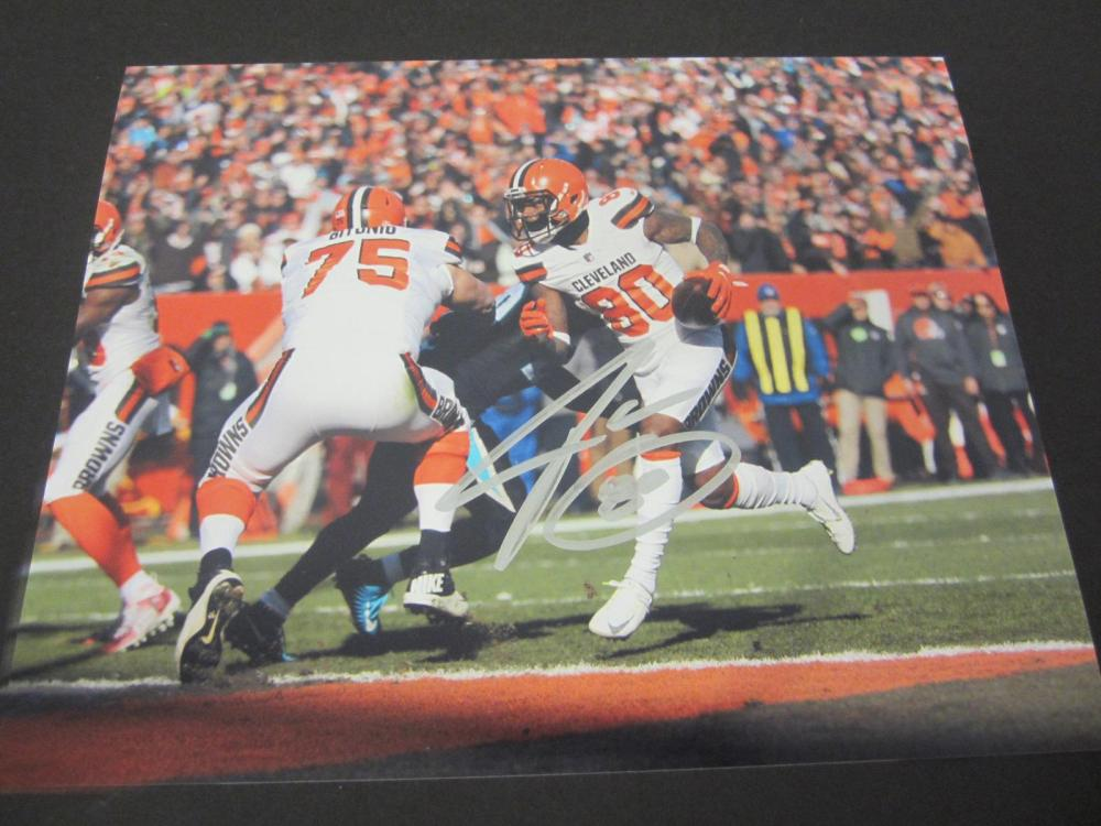 Jarvis Landry Browns Signed Autographed 8x10 Photo Certified Coa