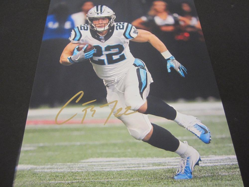 Christian McCaffrey Panthers Signed Autographed 8x10 Photo Certified Coa
