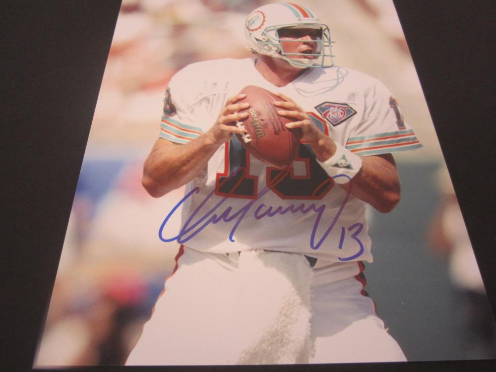 Dan Marino Dolphins Signed Autographed 8x10 Photo Certified Coa