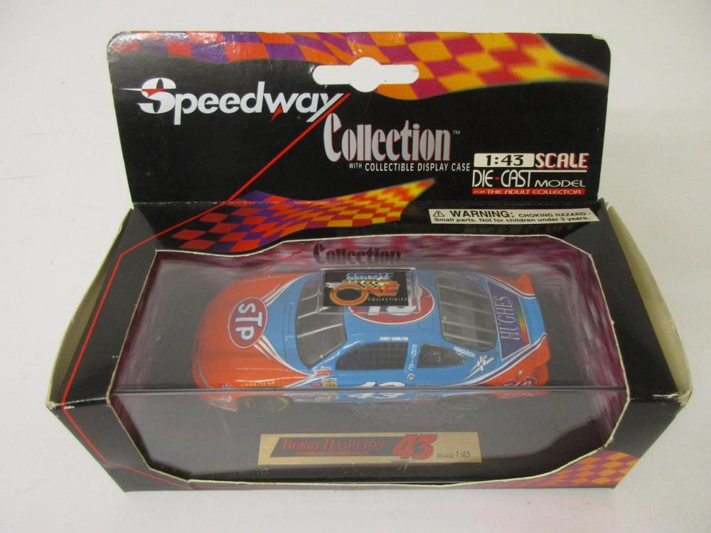 Bobby Hamilton Petty Racing Speedway Collection Die Cast Model w/display case