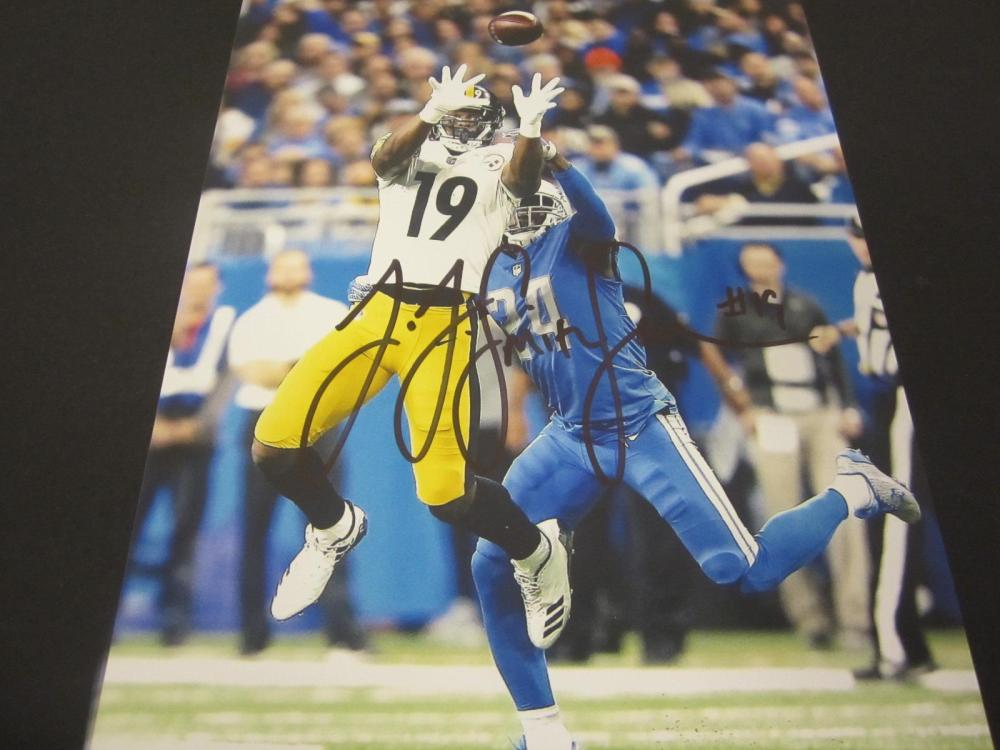 JuJu Smith-Schuster Steelers Signed Autographed 8x10 Photo Certified Coa