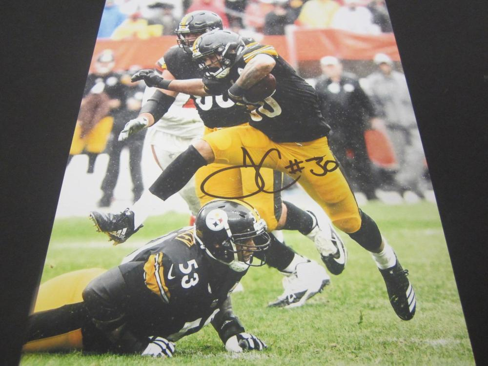 James Conner Steelers Signed Autographed 8x10 Photo Certified Coa