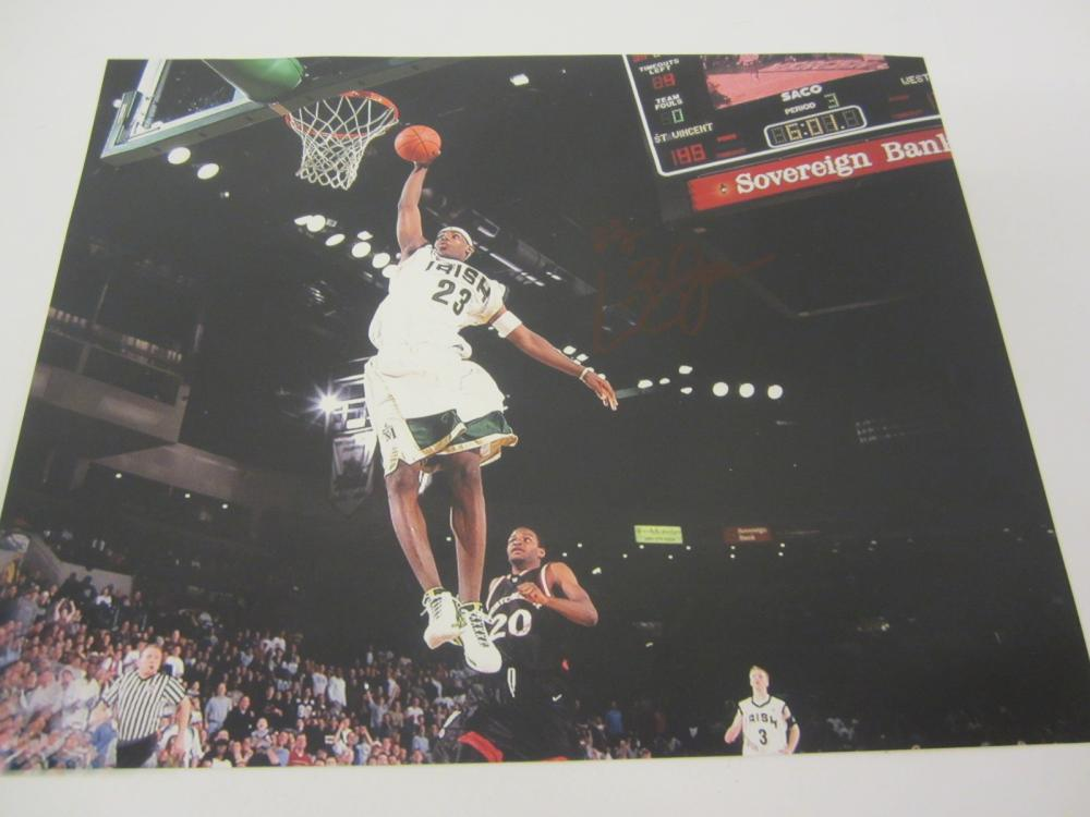LeBron James St. Vincent St. Mary Signed Autographed 8x10 Photo Certified Coa