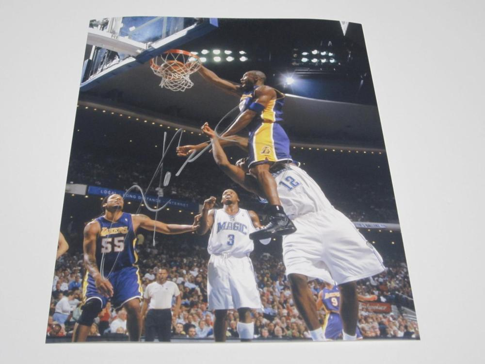 Kobe Bryant Lakers Signed Autographed 8x10 Photo Certified Coa