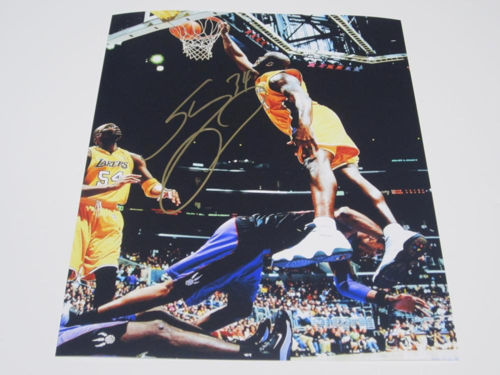 Shaquille O'Neal Lakers Signed Autographed 8x10 Photo Certified Coa
